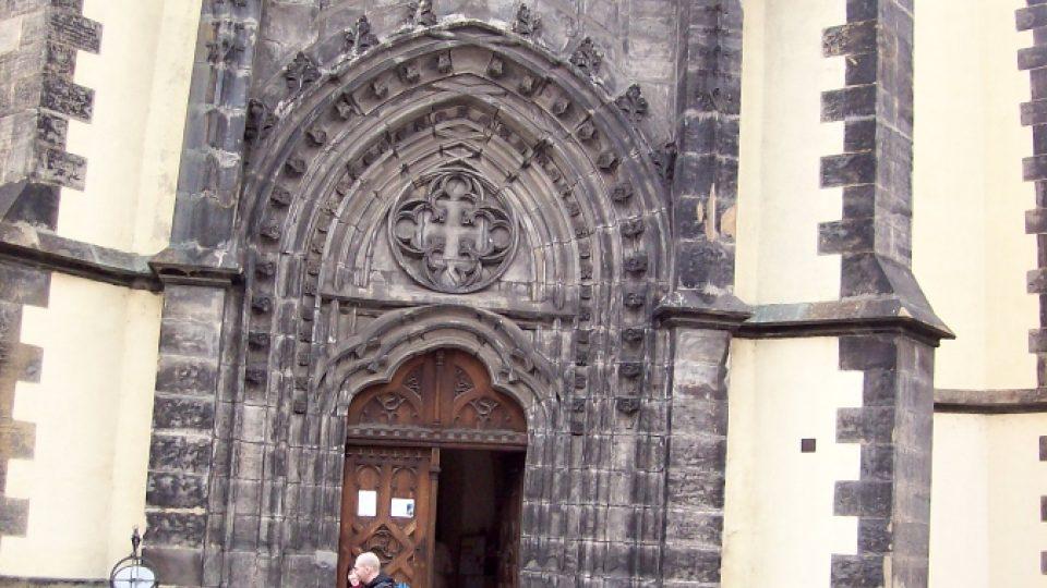 Vstup kostelu