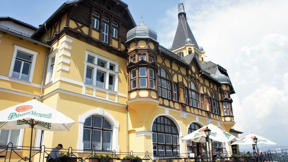 Větruše v Ústí nad Labem, kde Lukáš Uher vaří