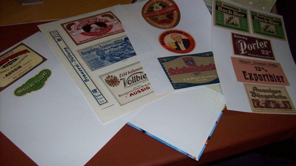 Sbírka Hynka Troutnara - z historie pivovarů v Ústí nad Labem