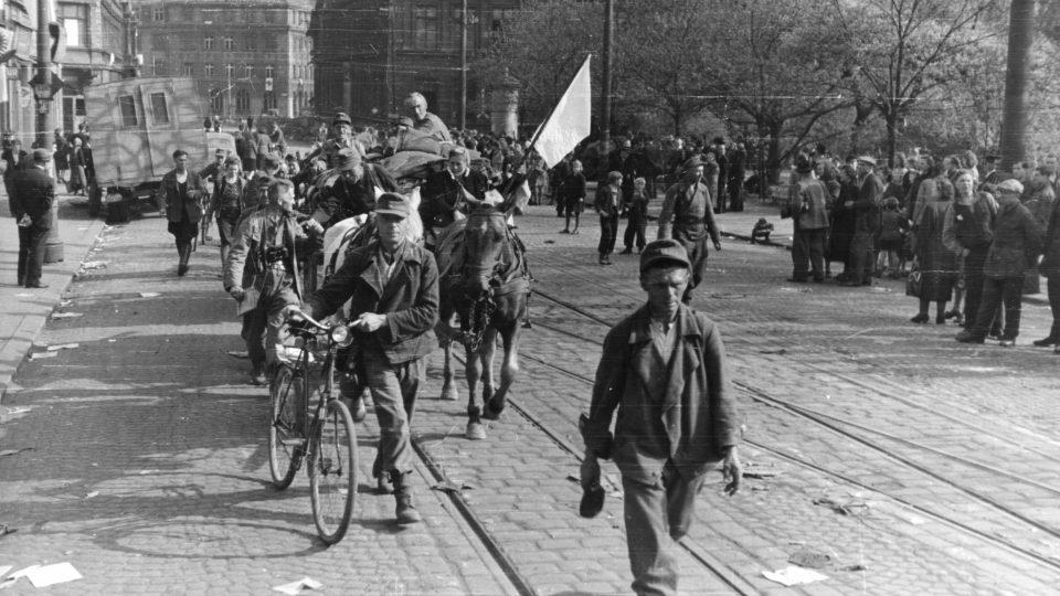 Konec války v Ústí nad Labem