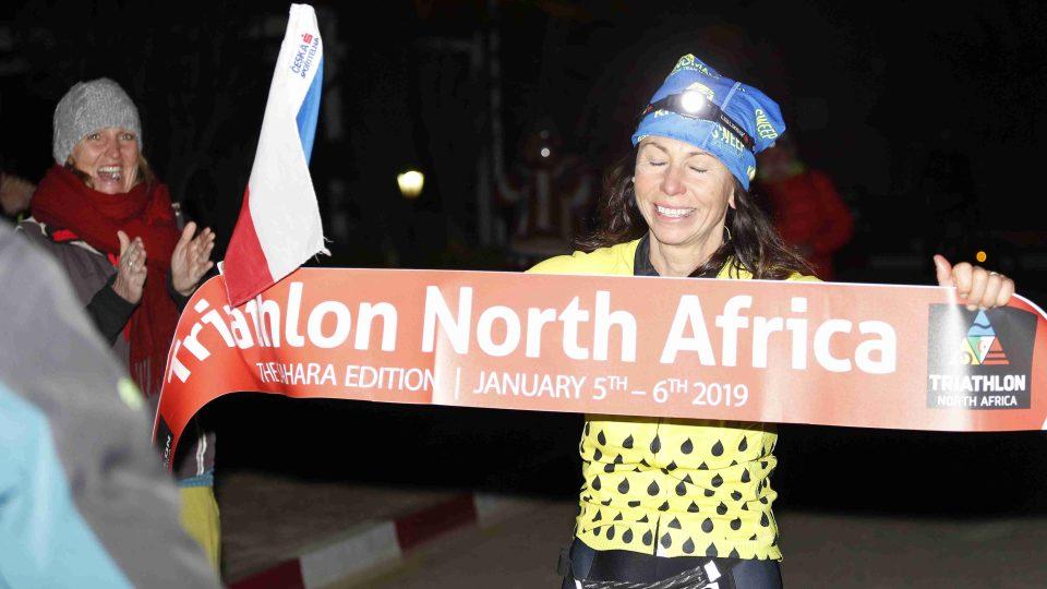 Alena Vrátná na Triathlonu North Africa