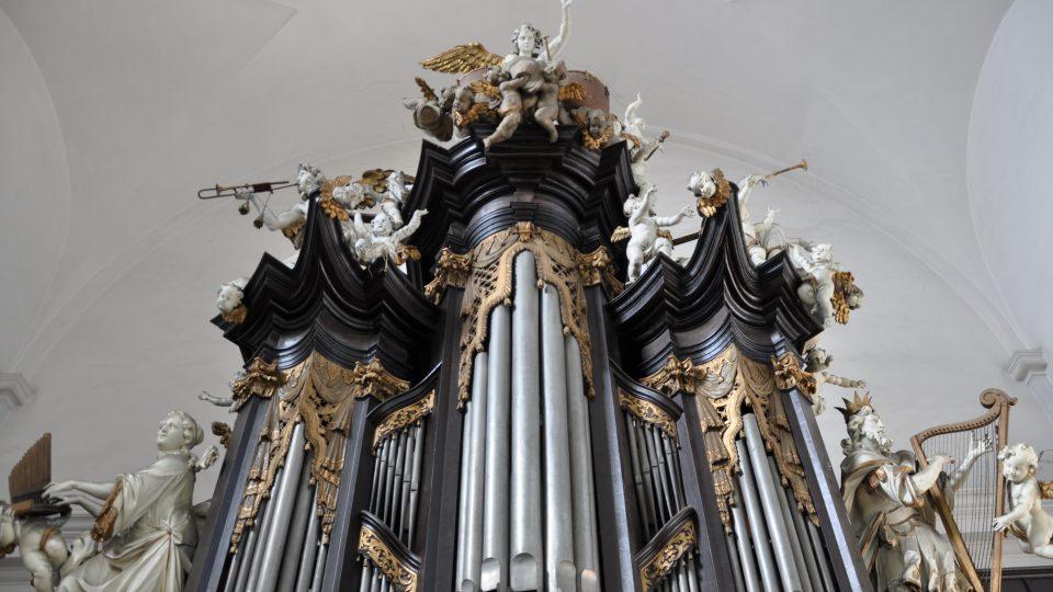 Varhany v bazilice Panny Marie Sedmibolestné v Bohosudově