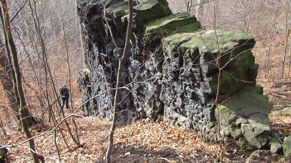 Čertova zeď u Suletic