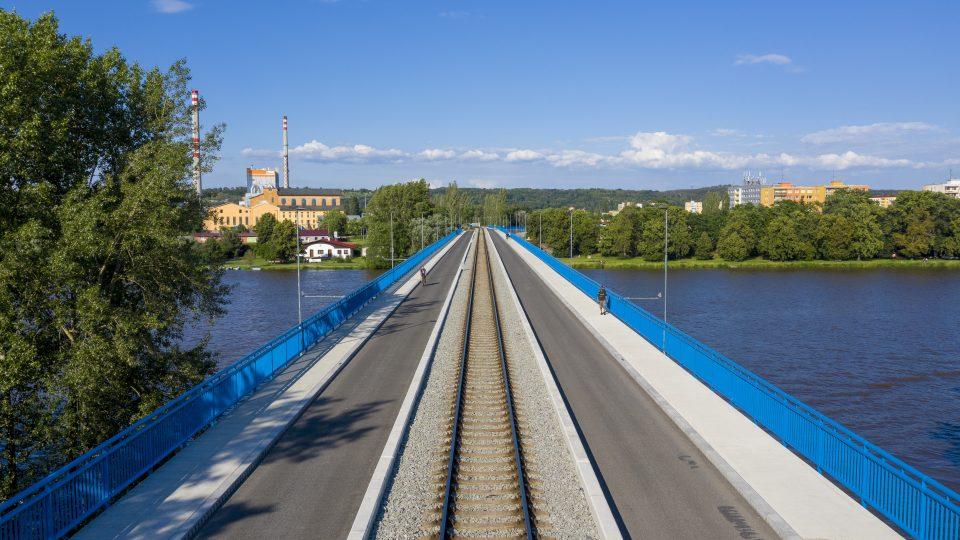 Most ve Štětí na Litoměřicku je kompletně opravený