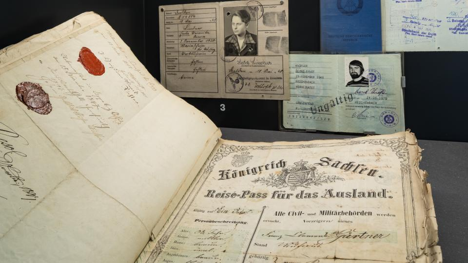 Výstava o dějinách česko-saských vztahů je k vidění v muzeu archeologie v Chemnitz