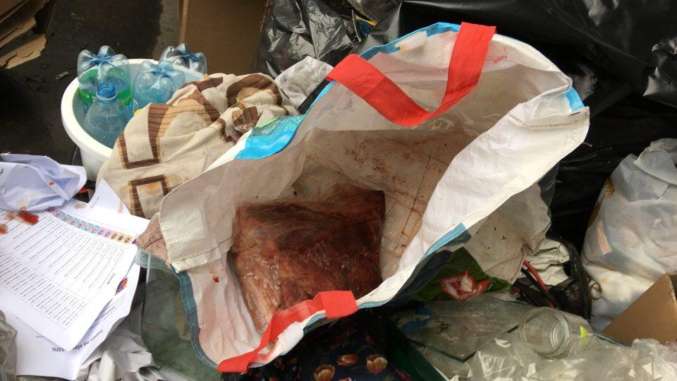 Při kontrole odpadků u krematoria v Ústí nad Labem našli ministerští úředníci zbytky tkáně