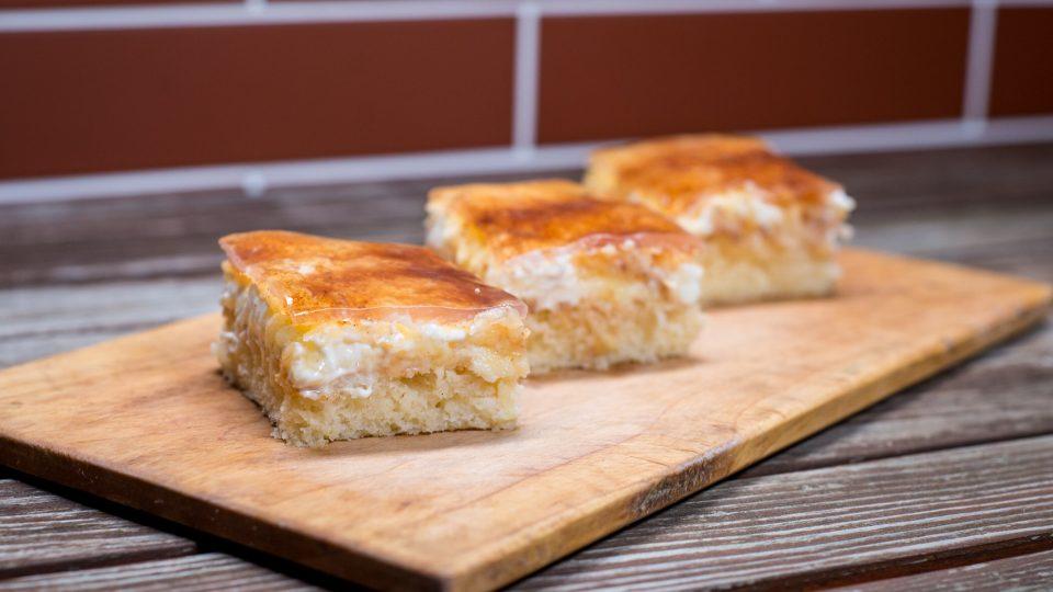 Jablečné skořicové řezy