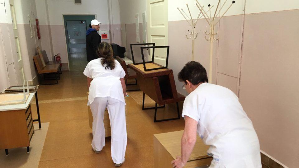 Stěhování interního oddělení Lužické nemocnice