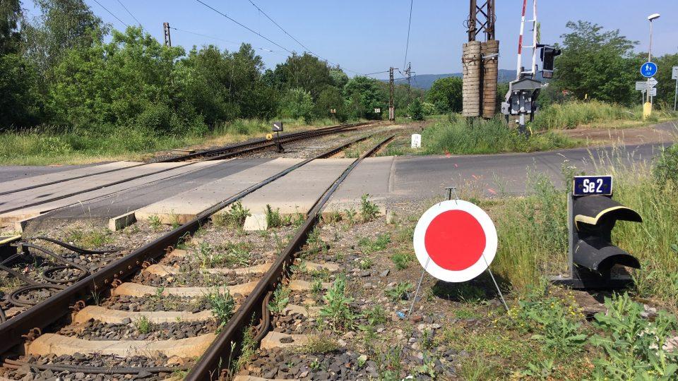 Modernizace železniční tratě z Louky u Litvínova do Litvínova