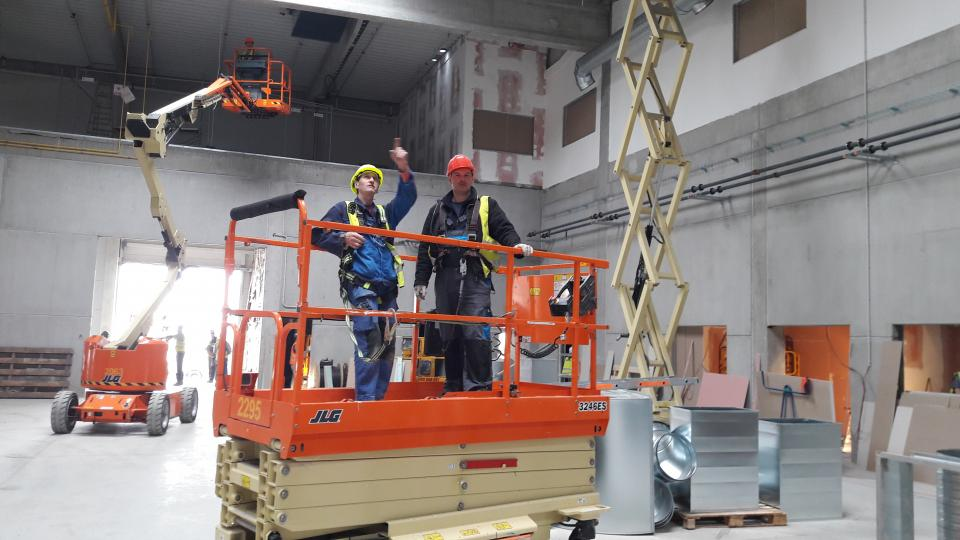 Koito: stavba nové výrobní haly