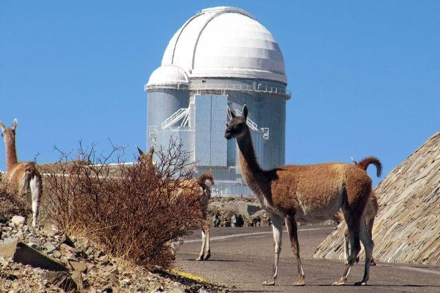 Astronomická observatoř v Atacamě