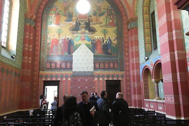 Nově opravená beuronská kaple v Teplicích