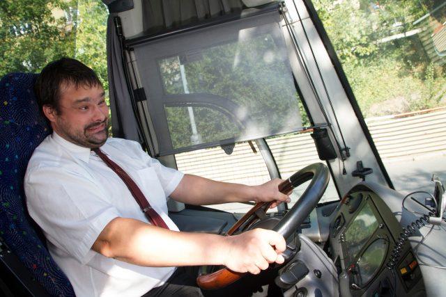 Nešťastný řidič autobusu