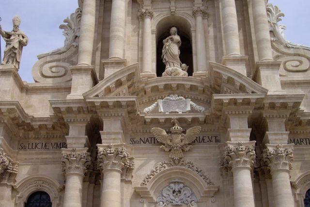 V sicilských Syrakusách se snoubí antika s církevním barokem | foto:  chilico23