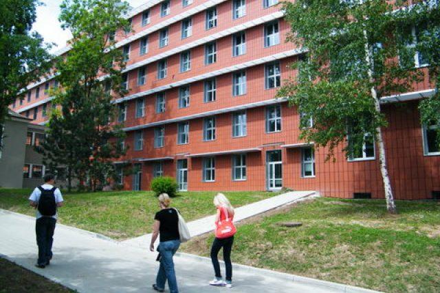 Areál  kampusu ústecké university