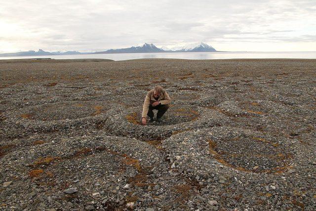 Co odhaluje permafrost? | foto: Wikimedia Commons,  Hannes Grober