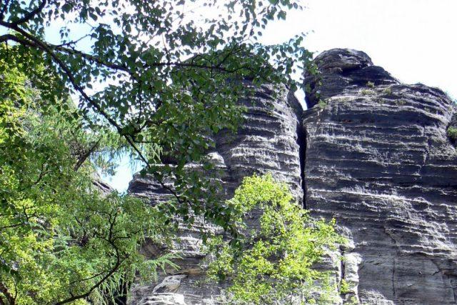 Tisá - pískovcové skalní město
