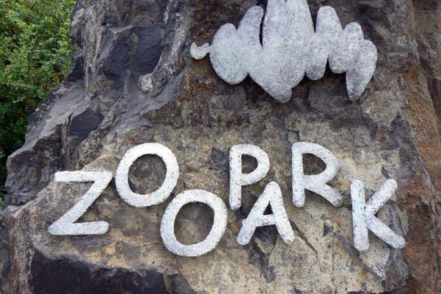 Poutač Zooparku Chomutov