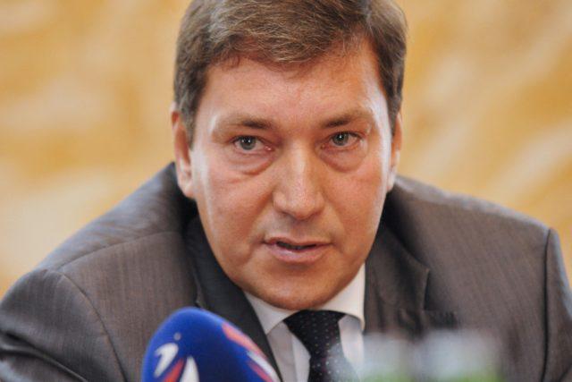 Tomáš Hüner - náměstek ministra Ministerstva průmyslu a obchodu