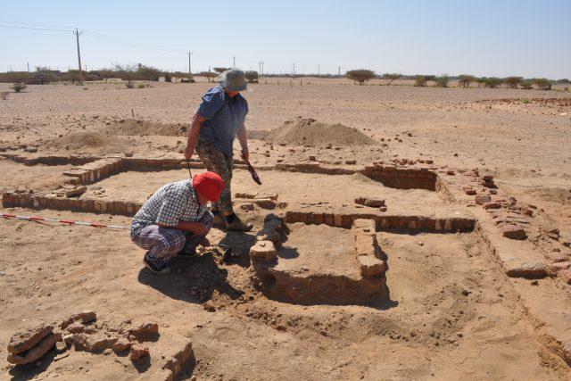 Výzkum Malého chrámu (2. expedice Národního muzea do republiky Súdán)