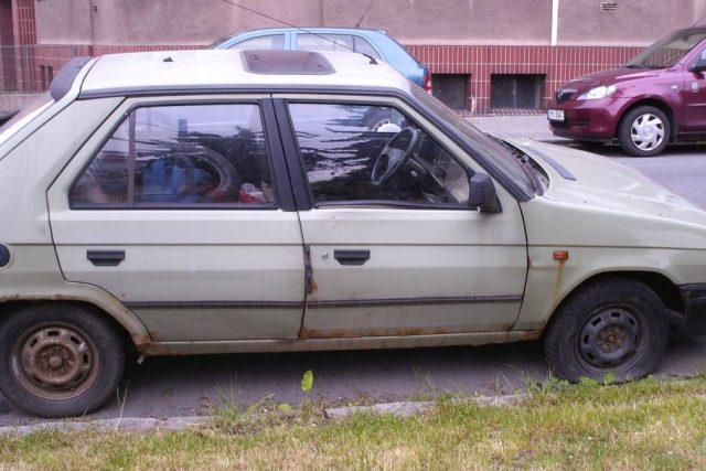 Autovrak v Plzni