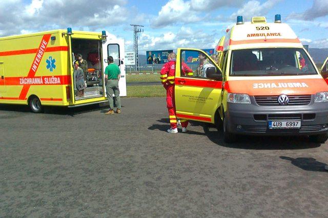 Sanity Zdravotnické záchranné služby Ústeckého kraje