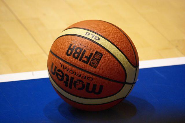 Basketbalový míč. Ilustrační foto