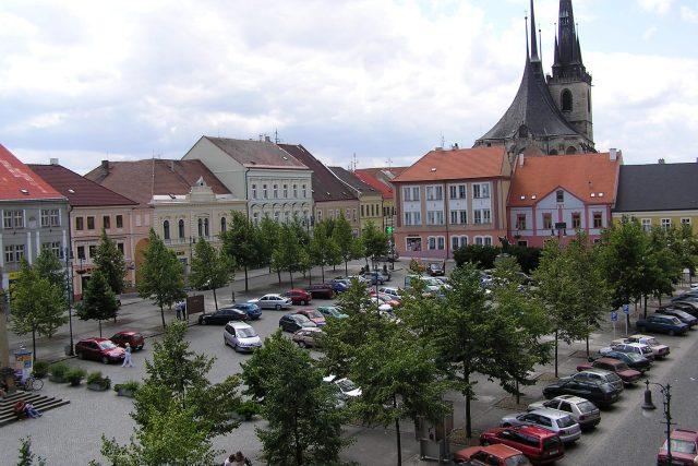 Louny - Mírové náměstí