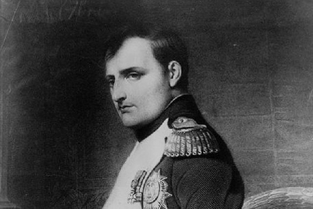Paul Delaroche: Portrét Napoleona Bonaparte