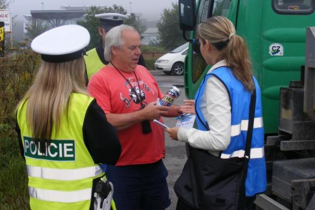 Policejní akce- Řídím-piju nealko pivo v Kladně (3)