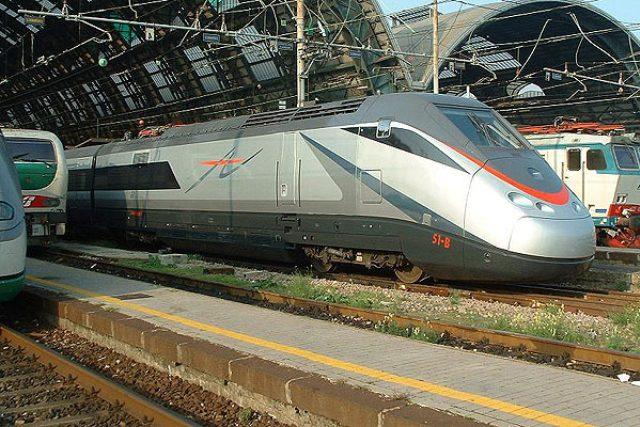 Vlaky, které jezdí na italských vysokorychlostních tratích