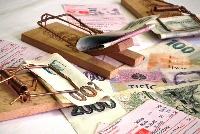 Dluhová past | foto: F. Tichý