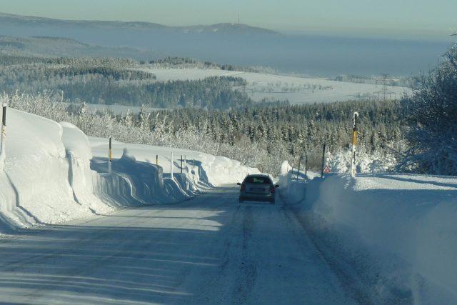 Zimní cesty v Krušných horách v okolí Výsluní - Rusová | foto: David Hertl,  Český rozhlas