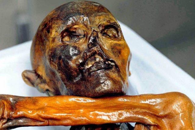 Ötzi,  muž z ledovce | foto:  South Tyrol Museum of Archaeology