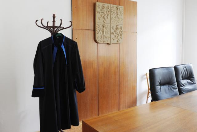 Soudy, jednací síň (ilustrační foto)