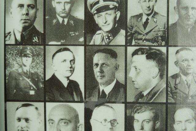 Účastníci konference ve Wannsee