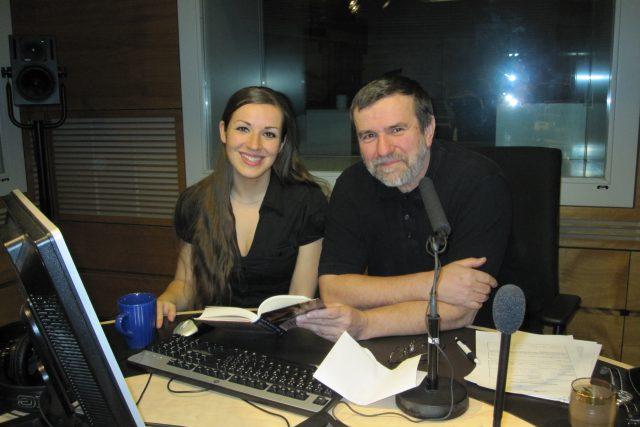Vlastimil Vondruška a Eva Kvasničková   foto: Jan Profous