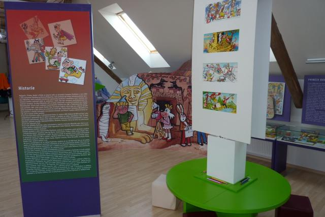 Muzeum Čtyřlístku - Doksy