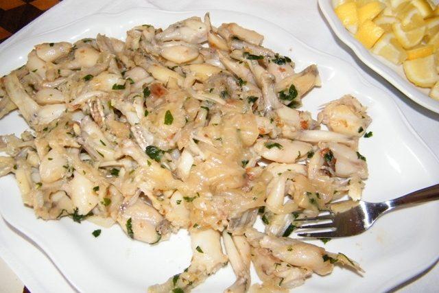 Ochutnávka žabích stehýnek na zámku Velké Březno