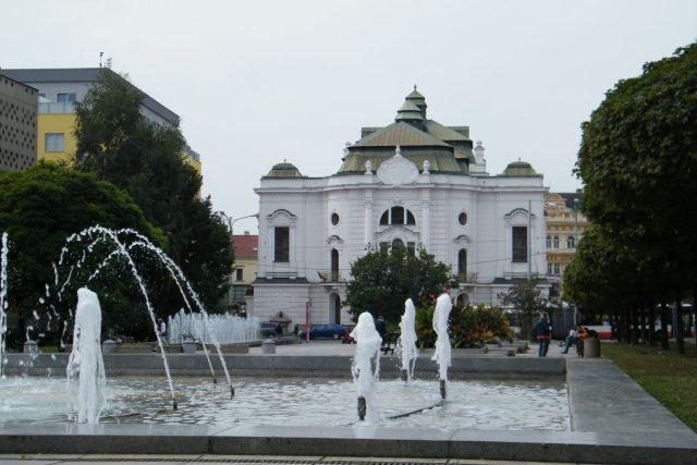 Ústí nad Labem - Lidické náměstí