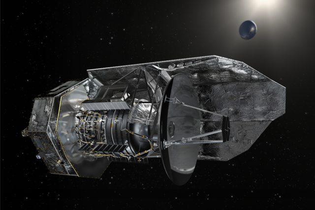Infračervený kosmický dalekohled Herschel