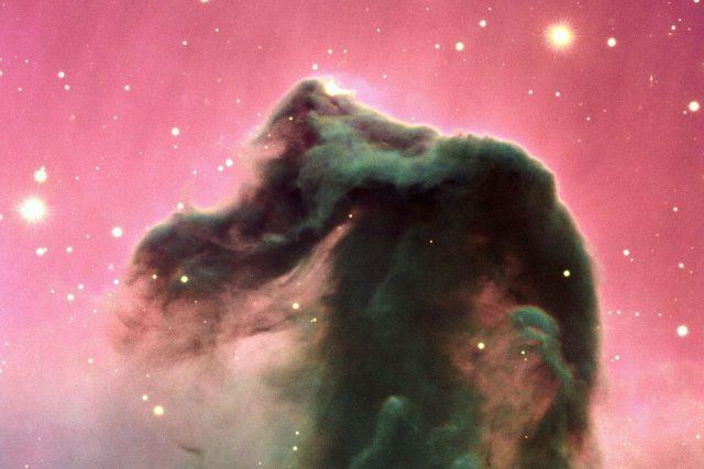 Temná mlhovina Koňská hlava v Orionu | foto:  ESO