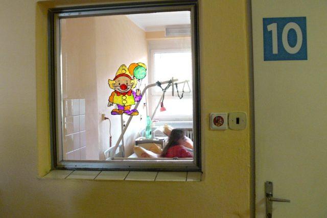 V nemocnici (ilustr. foto)