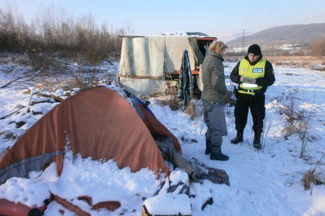 Bezdomovci v Habrovicích