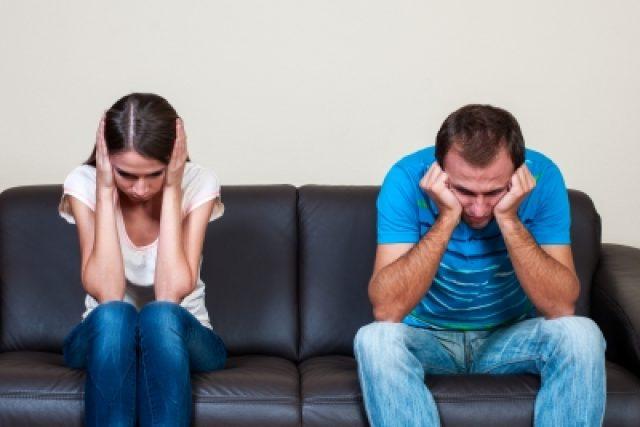 Problémy ve vztahu (ilustrační foto)