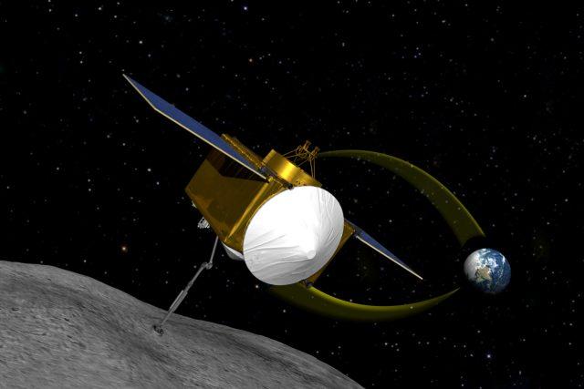 Zobrazení sondy OSIRIS-REx | foto:  University of Arizona