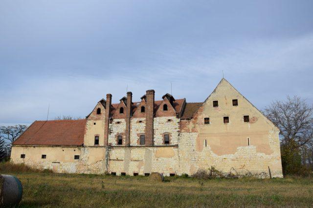 Stará sušárna chmele v Trnovanech u Žatce   foto: Lucie Radová,  Národní památkový ústav