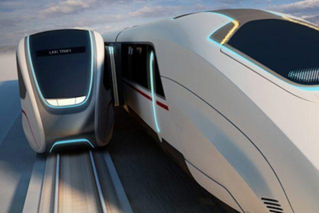 Britský systém by umožnil cestujícím přímo za pohybu přestup z lokálky na dálkový rychlovlak