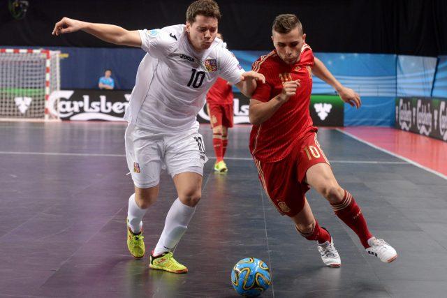 Futsal Česká republika - Španělsko | foto: Michal Pavlík