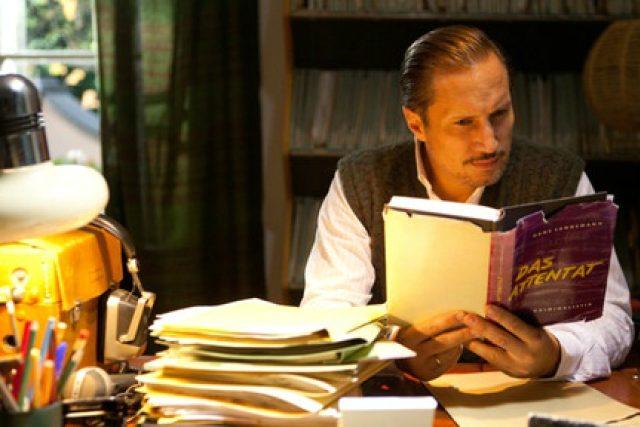 Záběr z filmu Der blinde Fleck